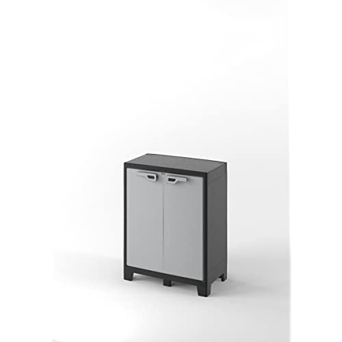 Kis 9762000 Titan Armoire, Noir/Gris, Taille unique