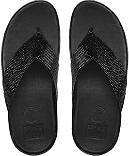 FitFlop Womens Crystall Toe-Thong Sandals