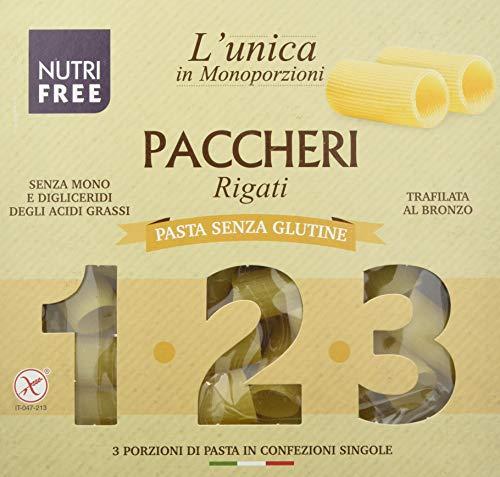 Nutri Free Paquetes rayados – 12 x 300 g, sin gluten