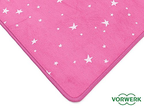 Vorwerk Kinderteppich Bijou Stars pink - 4