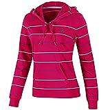 adidas Radient - Sudadera con capucha para mujer, color rosa Rosa radiante. 34