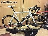 Pinarello bicicleta de carreras Razha Campagnolo. Veloz. Ruedas Most Linx. TG 51.