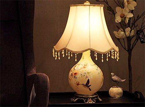 Arts lampe de chevet chambre pays d'Am¨¦rique europ¨¦enne table lampe de chevet r¨¦tro lampe d¨¦cor¨¦e de mariage de mariage lampe de produit