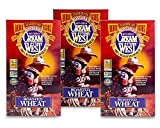 Cream of The West, 100% Natural Hot Cereal, Roasted Wheat - 24 oz. Box, Pack of 3