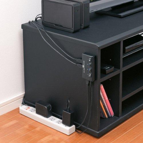 サンワサプライ『個別スイッチ付き4ポートUSB3.0ハブ(USB-HAS410BK)』