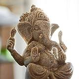 Estatua De Buda De Buda Meditativo, Estatuas De Ganesha De Piedra Arenisca Hecha A Mano.Ídolo De Ganesh Para Coche, Estatuas Hindúes, Ídolo De Ganesha, Estatuas De Budda Para Decoración Del Hogar.E
