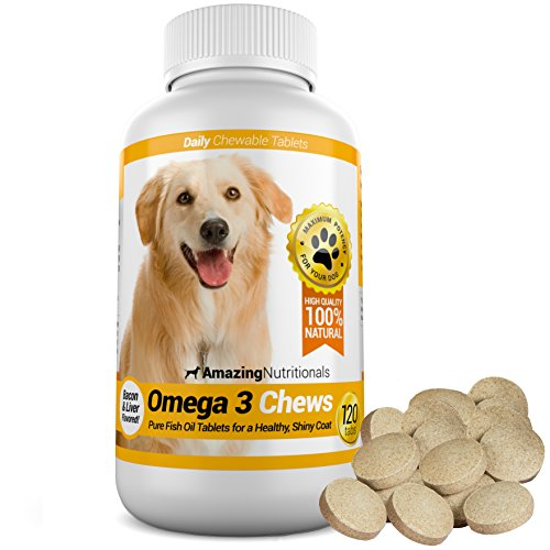 Top 10 best selling list for chewable fish oil supplements for dogs