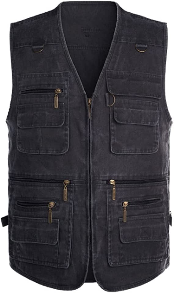 Fishing In a popularity Vests Limited time cheap sale for Men Vest S Multi Outerwear Pocket