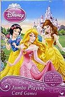 Disney Princess Jumbo Playing Cards - Oversized Kids Card Deck [並行輸入品]