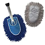 Product Image of the Triangle Dust Mop Kit: 4 Piece Industrial Dust Mop Kit
