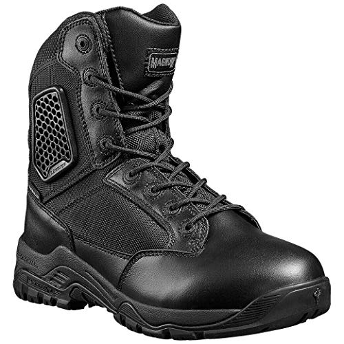 Magnum Hombre Strike Force 8.0 Cremallera Impermeable Botas tamaño 41