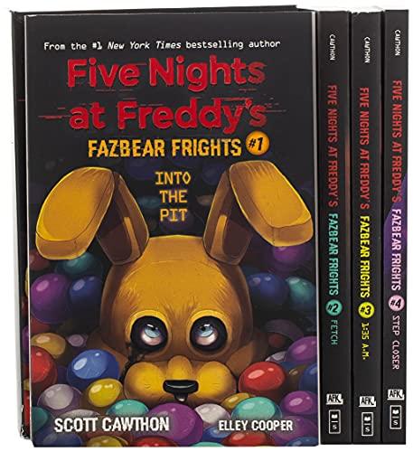Fazbear Frights Four Book Box Set: An AFK Book Series (Five...