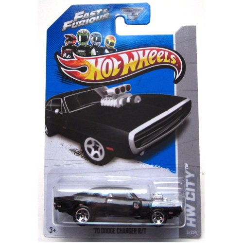 2013 Hot Wheels Hw City Fast & Furious - \'70 Dodge Charger R/T