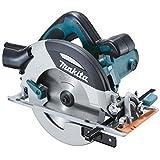 Makita HS7100 Sierra Circular 1400W 5500 Rpm 4.0 Kg Disco 190 Mm Corte Max 67 Mm, 1.4 W, 240 V, Azul, 0