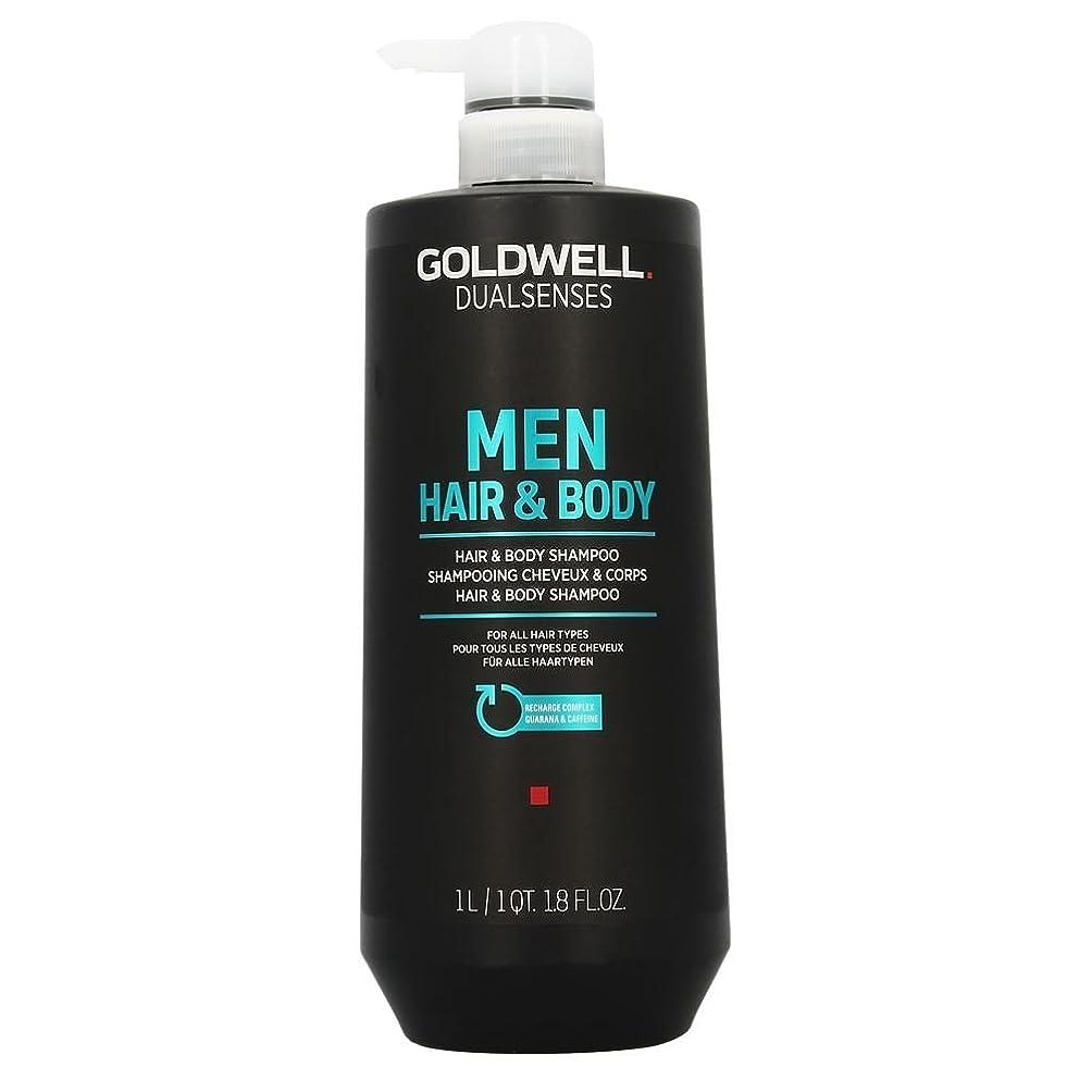 現れる操縦する緊張Goldwell 男性の33.8オンスのためのDualsensesヘア&ボディシャンプー