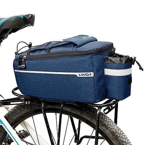 Abarich Bolsa térmica para Maletero con Aislamiento,Bolsa de Equipaje para Almacenamiento de Rejilla Trasera para Bicicleta de Ciclismo, Bolsa Reflectante para Bicicleta MTB, Bolsa de Hombro