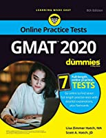 GMAT For Dummies 2020: Book + 7 Practice Tests Online + Flashcards, 8th Edition Front Cover