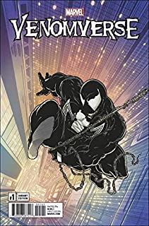 Venomverse 1:1000 Todd McFarlane Remastered Retailer Incentive 2017 Marvel Variant Comic Book Venom NM Condition