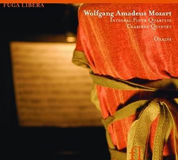 Mozart: Integral Flute Quartets, Clarinet Quintet