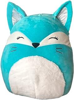 Squishmallows Official Kellytoy 16 Inch Soft Plush Squishy Toy Animals (Pania Blue Fox)