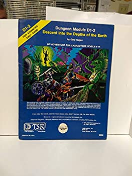 D1-2 Descent into the Depths of the Earth - Book  of the Advanced Dungeons and Dragons Module #C4