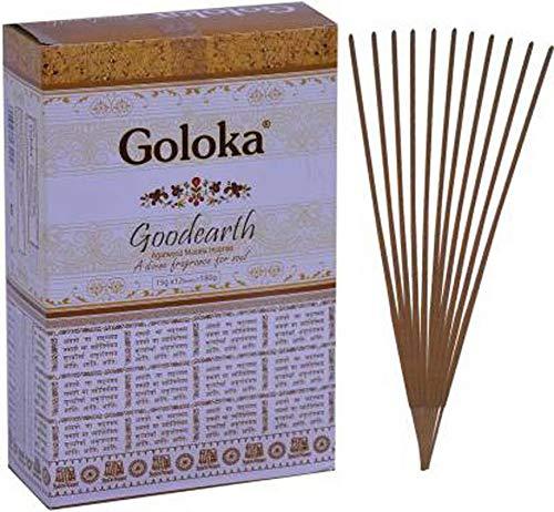 Goloka Goodearth, Bastoncini di incenso Agarbatti, fragranza Naturale Indiana, arrotolati a Mano