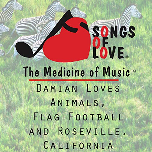 Damian Loves Animals, Flag Football and Roseville, California