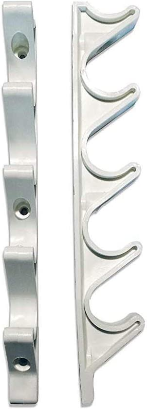 HTTH Adjustment Brackets for Chaise Lounge (White)