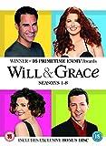 Will & Grace 1-8 Complete (Artwork Refre [Edizione: Regno Unito]...