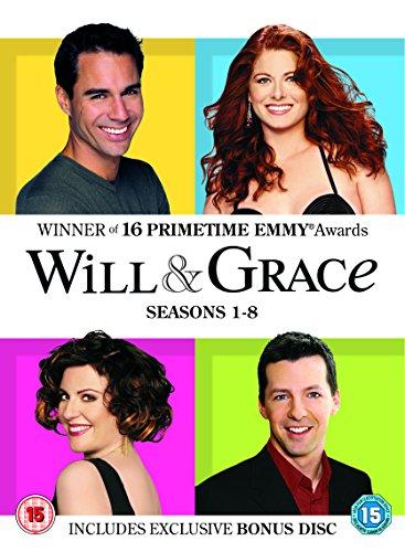 Will & Grace 1-8 Complete (Artwork Refre [Edizione: Regno Unito] [Import]
