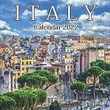 Italy Calendar 2022: Monthly Square Calendar 2022-2023, 16 Month Calendar, Europe Italy Calendar, Home And Office Calendar
