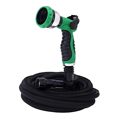 GREEN MOUNT 50ft Expandable Garden Hose, Lightw...