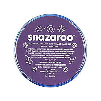 Snazaroo Classic Face and Body Paint 18ml Purple