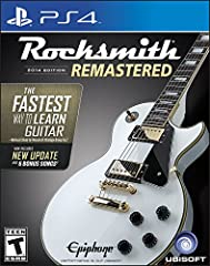 The latest edition of the fastest way to learn guitar and bass, newly upgraded and improved Get results fast with a proven method Studies show that over 95 percent of players have improved their skills using Rocksmith Learn at your own pace Rocksmith...