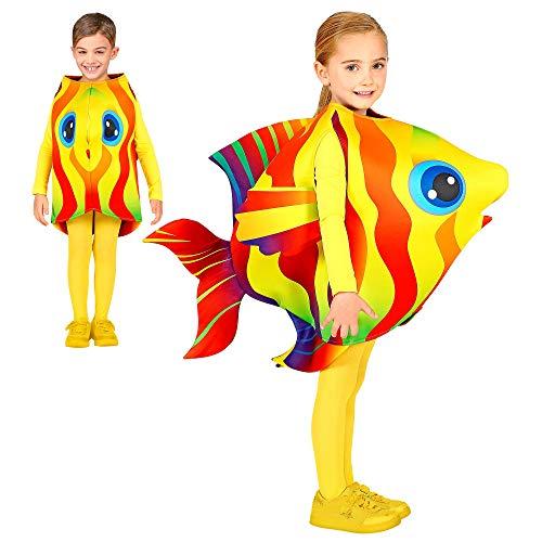 WIDMANN 01629 - Disfraz infantil de cangrejo, unisex, color rojo, 104 cm , color/modelo surtido