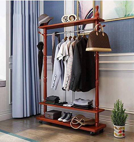 FF Hangers voor het drogen van planken Effen hout Honing Suiker Montagehangers Plank voor vloerkleding Plank Slaapkamer Woonkamer Hallway Europese stijl multifunctionele kledingrek