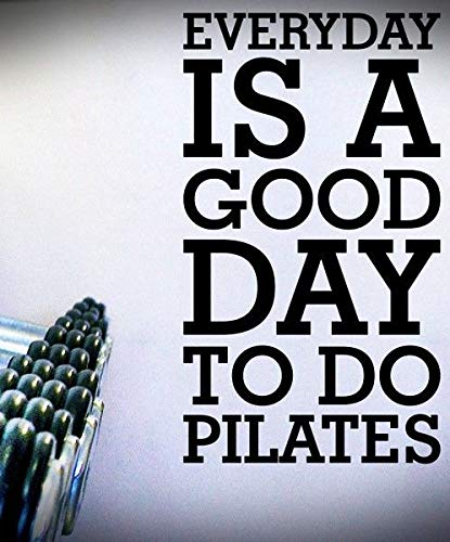 Everydaypilates Quote Decal Stickers Exercise Fitness Cardio Wall Life