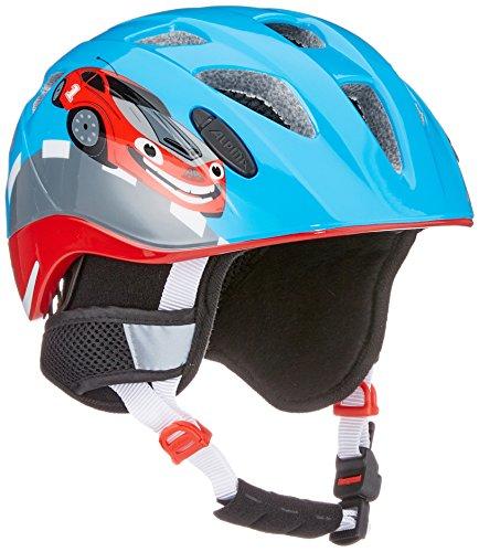 Alpina casco moto per bambini Ximo Flash Winter, Bambini, Radhelm Ximo Flash Winter, Red Car, 45-49