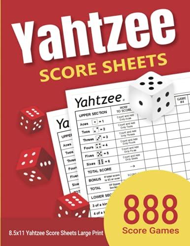 yahtzee game - 3