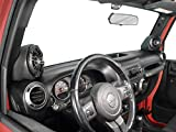 Select Increments 2015-2018 Compatible With Jeep Wrangler JK and Unlimited Without Alpine Premium Factory Systems Pillar Pods With Kicker speakers PP1518-K