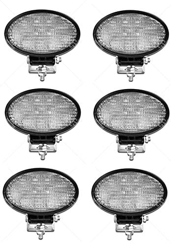6x140mm werklicht 24W IP67 opknoping/staande LED witte lamp vluchtlicht werkschijnwerper ATV UTV vrachtwagen personenauto aanhanger tractor Bager vorkheftruck grabenbager caravan quad drager