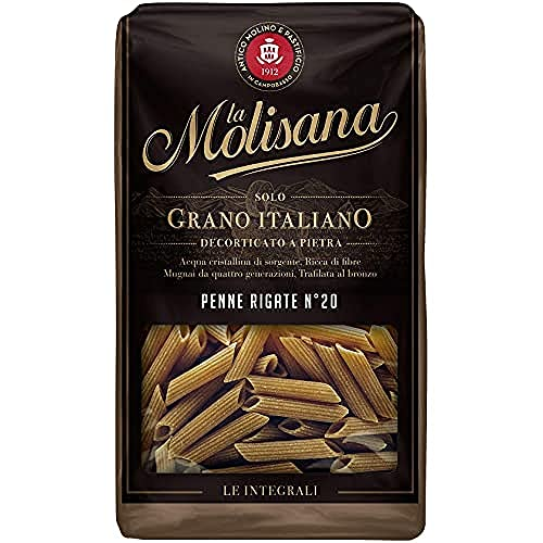La Molisana Pasta Integrale Penne Rigate N.20, 500g