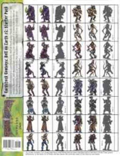 Cardstock Cowboys: Hell on Earth #1: Starter Pack (PEG2801)