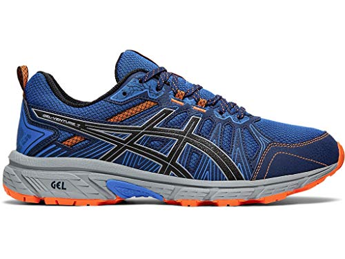 ASICS Men's Gel-Venture 7 Running Shoes, 10M, Electric Blue/Sheet Rock