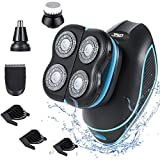Electric Shaver Razor 4 in 1 Electric Head Shaver for Men, 5D Rechargeable