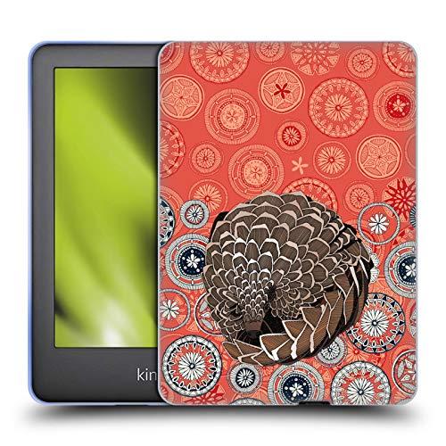 Official Sharon Turner Pangolin Animals Soft Gel Case Compatible for Basic Kindle 10th Gen (2019)