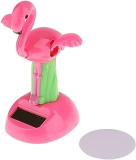 FRECI Car Dashboard Bobblehead Toy Bobble Head Flip Flap Toys Dancing Dancer Toys Home Decorative Figurines Ornament - Flamingo