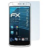 atFolix Schutzfolie kompatibel mit Oppo N1 Mini Folie, ultraklare FX Bildschirmschutzfolie (3X)