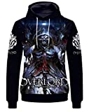 YOYOSHome Anime Overlord Cosplay Ainz Ooal Gown Hoodie Jacket Costume Sweater Fleeces