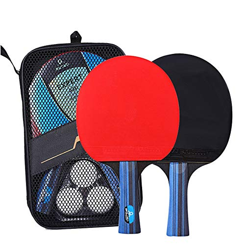 Review Walled King Professional Table Tennis Racket Set Ping Pong Student Sports Equipment Ping Pong...